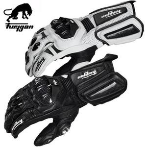 Karbon Elyaf Deri Motosiklet eldivenleri Furygan AFS 10 Moto GP BMX Eldiven İniş dağ bisikleti Bisiklet yarış eldiven Q