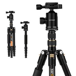 KF CONCEPTO KF-TM2515 cámara trípode fotográfico portátil profesional monopie + bolsa de cabeza de bola para cámaras digitales SLR