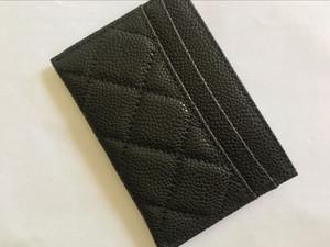 Новая мода классический дизайн повседневная кредитная карта ID держатель Hiqh качество натуральная кожа ультра тонкий кошелек пакет сумка cavier кожа purese кошелек
