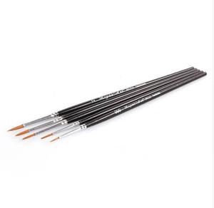 5 Teile / satz Feinen Detail pinsel Hand bemalt Hookline Stift Zeichnung Kunst Stift Miniaturen Pinsel Pen refill Kunst Liefert