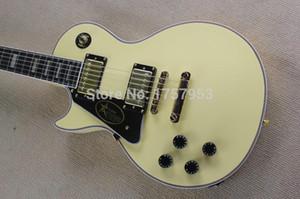 Spedizione gratuita Factory Custom Shop 2015 new Custom mano sinistra Vintage White chitarra elettrica Lefty Hand Guitar 3 23we