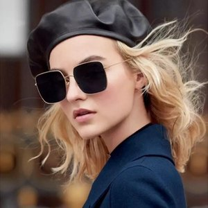 2018 New Classic Pilot Sunglasses Vintage Round Adumbral Sunglass Parejas de moda Polarized Sunglass Hipster Gafas de sol con caja STELLAIRE 1