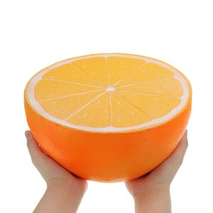 Liberi la nave morbide squishy squishies jumbo Big Orange anguria lento aumento giocattolo bambini giocattoli spremere divertimento Gift Collection Strawberry