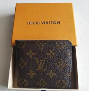 Qualitäts-Markendesigner Brieftasche mit Luxus-Kurz Geschenk-Box-Mappen-Kartenhalter ist berühmt für Männer Frauen Handtaschen Geldbeutel