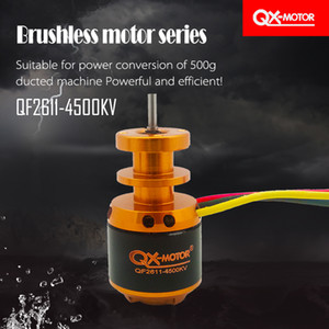 QX-MOTOR QF2611 4500kv 3S Brushless Motor Para RC Airplane 64 milímetros Ducted Fan Jet EDF DIY Drone Parts