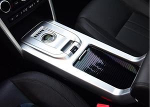 Console gear shift penal decorativa capa protetora guarnição da etiqueta para land rover discovery esporte Acessórios Interiores