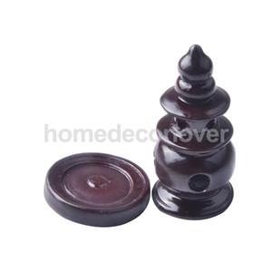 Incense Burner Cone Censer Tower Holder Accessory Craft for Zen Garden Sand Landscaping