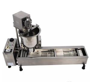 Máquina De Rosca automática Completa 110 V 220 V 3000 W Aço Inoxidável Donut Maker Fazendo Frete Grátis