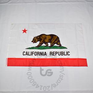 Estado da Califórnia pendurado bandeira quarto decoração grátis 3x5 transporte FT / 90 * 150 centímetros Hanging Bandeira nacional California Home Decoração bandeira da bandeira