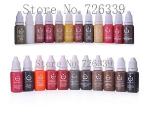 23 PCS lot Micro pigment Cosmetic 1 2OZ PRO Tattoo Ink Pigment for Permanent Makeup Eyebrow Eyeliner Lip Body Tattoo Art