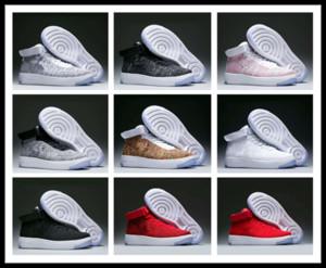 Magasins d'usine 2018 amoureux airman Chaussures de course portable numéro 1 Femmes et hommes fitness Sneakers avec boîte haute coupe marche Chaussures de sport