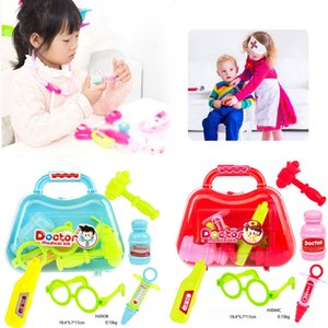 Pretend Play Toys 5pcs Kids Baby Doctor Medical Play Carry Set Case Education Role Play Toy Kit Gift toys for children