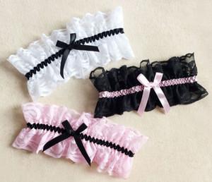 무료 배송 디자이너 핫 판매 새로운 스타일의 레이스 가터 bowknot 꽃 다리 링 웨딩 신부 가터 shuoshuo6588