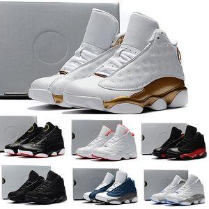 Nike Air Jordan 13 Баскетбольные кроссовки One Penny Hardaway Дети Теннис FOAM Баклажан Баскетбол Спортивная обувь Спортивная спортивная обувь на открытом воздухе Eur 41-47
