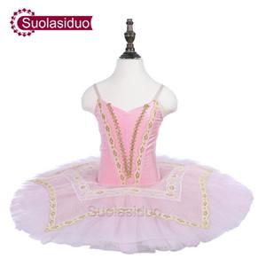 Baby Pink Ballet Tutu Classical Stage Performance Apparel Girls Ballet Dance Fashion Skirt Adult Ballet Dresses