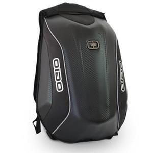 Yeni Gelenler OGIO 5 Max Şövalye Sırt Çantası Su geçirmez Motokros Sırt Çantası Laptop Çantası Çok Fonksiyonlu Karbon Elyaf Sert Kabuk Çanta