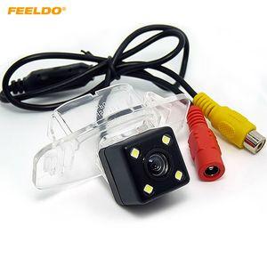 FEELDO Especial Car Câmara de visão traseira com luz LED para Honda Accord Civic Car / Invertendo Camera # 4028
