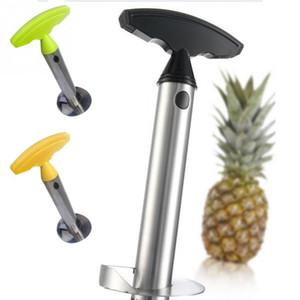 Nova Chegada Prático Fácil Gadget Cozinha Fruta Abacaxi Cortador Cortador De Aço Inoxidável Descascador De Abacaxi Corer-Slicer