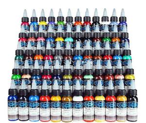NOUVELLE ARRIVÉE Tattoo Ink Fusion 60 Couleurs Ensemble 1 oz 30ml / Bouteille De Tatouage Pigment Kit Livraison Gratuite