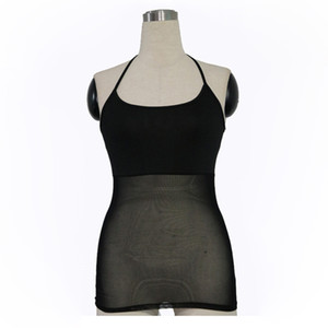 Femmes Bellydance Wear Sans Manches Poitrine Soutien Bottoming Shirt Femmes Body Belly Dance Halter Tops