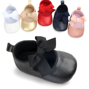 Newborn Baby Girls Shoes Baby Shoes Big Bow Dance Ball Shoe infant Soft Sole First Walker shoes