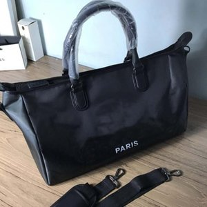 Ünlü moda CC sembol alışveriş çantası büyük kapasiteli el tek omuz eğik satchel yoga spor çantası seyahat çantası