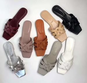 Бренд 2018 Классические женские тапочки обувь женщина сандалии слайды женская кожа женщины женщин mujer обуви женщина Sapato женщины сандали