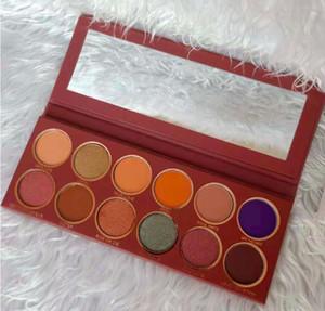 العلامة التجارية HUDA PALETTE with EyESHADOWS Makeup by ONE OPEN PALETTE 28 لون عيد ميلاد MAKEUP Shimmer Matte Royal Peach