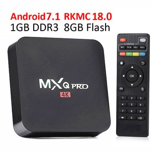 MXQ Pro Android 7.1 TV Box RK3229 Quad Core 1 GB 8 GB Wifi 4K H.265 Descuento Streaming Media Player