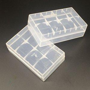 Plástico 20700 21700 Bateria Caso Caixa De Armazenamento De Embalagem 2 * 20700 ou 2 * 21700 Bateria Cor Clara de Alta qualidade Portátil Caso DHL Livre