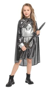 Shanghai Story Halloween Costumes for Girls girls knight costume Christmas Carnival Masquerade Children Cosplay Clothes Kids