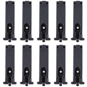 10PCS QingGear Molle Lok Mag Carrier para el sistema de Molle Lock de fijación de Molle dispositivo DIY funda de la envoltura del cuchillo con los tornillos accesorios tácticos
