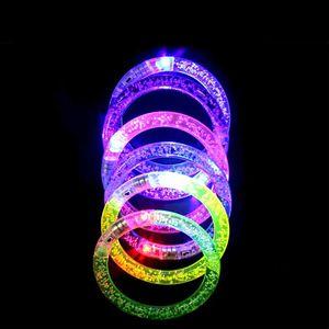 Led танец браслет СИД нового способа загораться мигающий браслет браслет Glow моргать партия Christams подарков