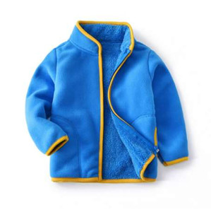 BibiCola autumn boys jackets children boys casual velvet coats spring fashion sports outerwear kids thicken clothing