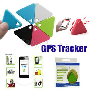 소형 GPS 추적자 똑똑한 무선 Bluetooth 반대로 분실 된 경보 추적자 iTag 중요한 측정기 삼각형 탐지기 원격 제어 셔터 + 소매 포장