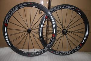 슈퍼 라이트! COLNAGO 도로 탄소 바퀴 50mm clincher clincher 탄소 wheelset 50mm 700C 도로 자전거 전체 탄소 섬유 도로 자전거 바퀴