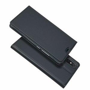Для Xiaomi Redmi S2 Redmi Y2 / Mi Mix 2s / Mi A2 6X Флип Чехол Магнитная Тонкая Книга Подставка для Карт Карта Защитная оболочка Бумажник Кожаный чехол