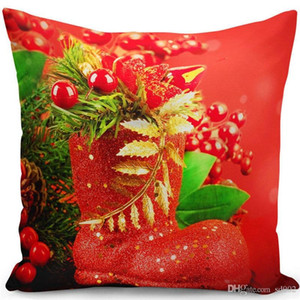 Housewear Best Sellers Pillow Case Christmas Festival Cushion Cover Super Soft Plush Furnishings Pillowslip Gift Practical Tide 5 5zf cc