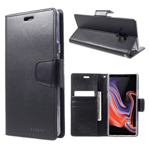 MERCURY GoosPERY Case for Samsung Note 9 Sonata Diary PU Leather Wallet Flip Cover Cover for Samsung Galaxy Note9 Celular Capa