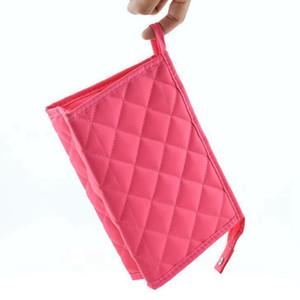 المرأة حقيبة ماكياج التجميل الوظيفية شعرية الماس شعرية زيبر المكياج حقائب منظم تخزين الحقيبة أدوات الزينة غسل مربع