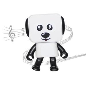 Nouveau Smart Dancing Dog Speakers Mini dessin animé Bluetooth Dance Robot Dog Speaker Belle pour les enfants cadeau livraison gratuite par DHL