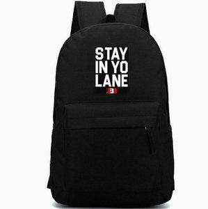 Bleiben Sie in yo Spur daypack Lonzo Kugeltagesrucksack BBB große baller Schultasche beiläufige Rucksack Gute Rucksack Sport Schulranzen Außen Rucksack