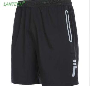 LANTECH Hommes Courir Basket-ball Shorts Joggers Formation Sports Sportswear Fitness Gym Shorts Poche Refletive Respirant