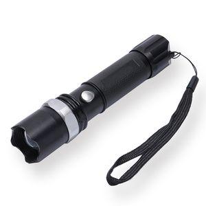 2000 Lumens XML T6 Tactical LEVOU Lanterna 5 Modos de Zoom Lanterna Ajustável 18650 Lanterna Recarregável Luz Lanterna Frete Grátis
