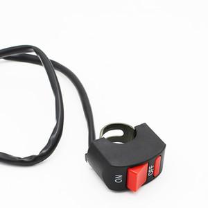 5 PCS Elétrica Motocicleta Interruptor do Farol Duplo Flash Da Bateria Do Carro Modificado Explosão Interruptor de Flash, a Distância Do Botão Da Luz Acessórios