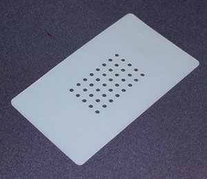 JiuTu LCD Separator Non-Slip Rubber Mat Mobile Phone LCD and Touch Screen Separator Rubber Mat + holes 11cm*19cm