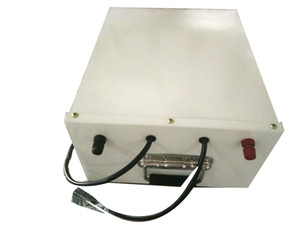 Free charger Free shipping 24V 100Ah LiFePO4 battery pack with bms stainless steel box for energy storage