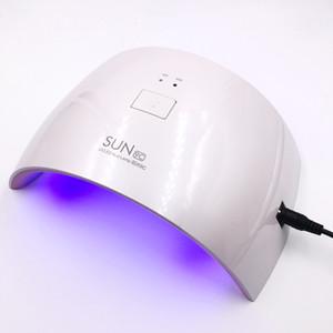 SUN9S 24W الضوء الأبيض المهنة LED مصباح الأشعة فوق البنفسجية UV LED SUN SUN9C مسمار مجفف آلة لعلاج الأظافر البولندية جل مسمار أدوات الفن