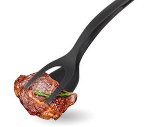 Utensilios de cocina caliente Huevo frito Turners PPA Cocina Turner Utensilios de cocina Pan Pinzas Huevo Espátula Grip Flip Espátula Pancake Cooking Tool
