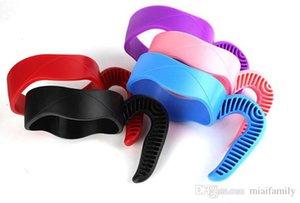 Tazas de plástico tazas Tazas para 20 oz 30oz Seguro titular 5 colores Tazón de fuente de acero inoxidable con aislamiento